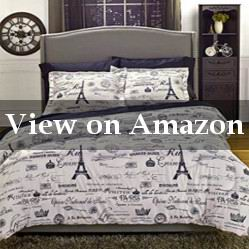 Black and White Paris Bedding Twin Review