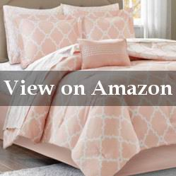 Comforter Set with a Design Blush Bedspread Review