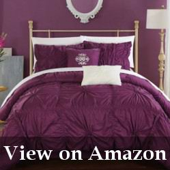 King Size Purple Bed Set Review