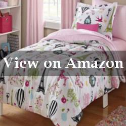 Paris Print Comforter Set for a Girl's Bedroom Review