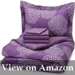 Purple Bed in a Bag Queen Size Comforter Review
