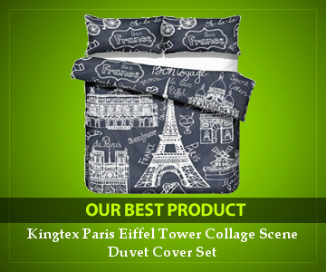 Best Baner Paris Comforter Set