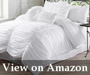 best white comforter set reviews