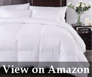 best white down comforter reviews