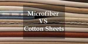 microfiber or cotton sheets