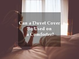 duvet vs comforter manual