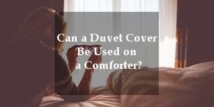 duvet vs comforter manual