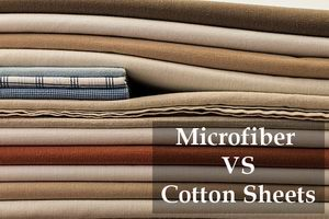microfiber vs cotton sheets guide