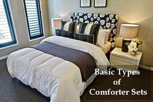 basic types of comforter sets