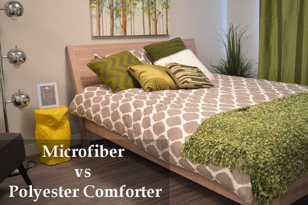 microfiber vs polyester comforter