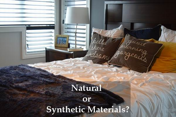 types of bedding material