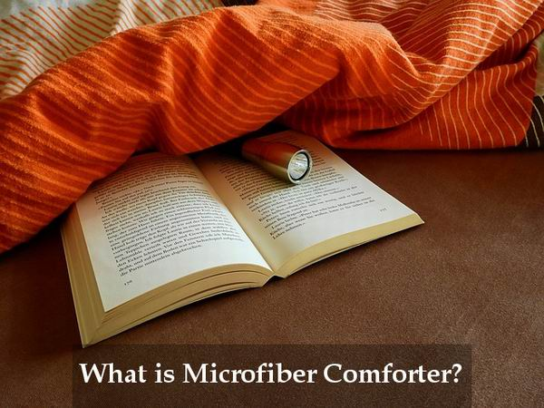 what is microfiber comforter made of