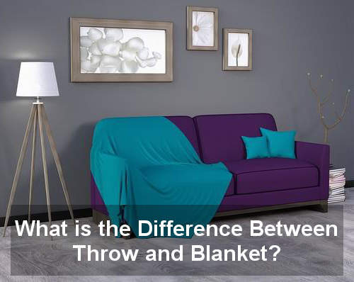 what is the difference between throw and blanket