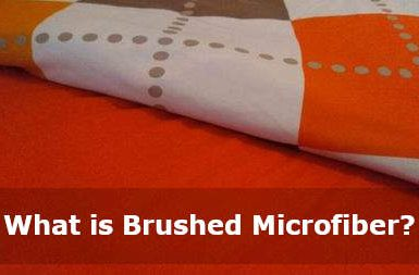 what is brushed microfiber