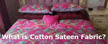 what is cotton sateen fabric