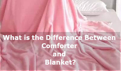 difference between comforter and blanket
