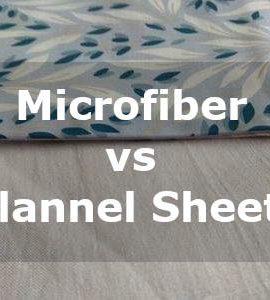microfiber vs flannel sheets