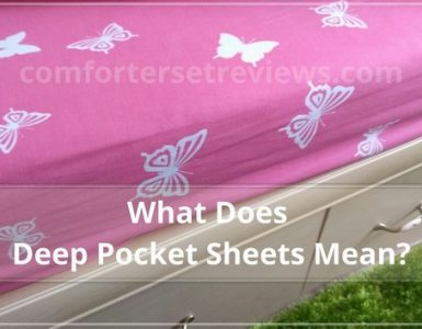 what does deep pocket sheets mean